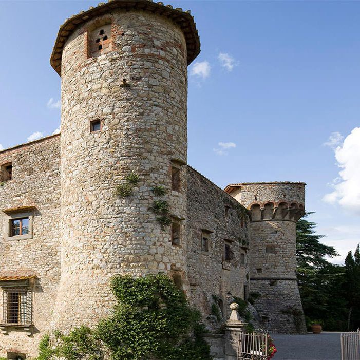 Fortified Chianti Castle