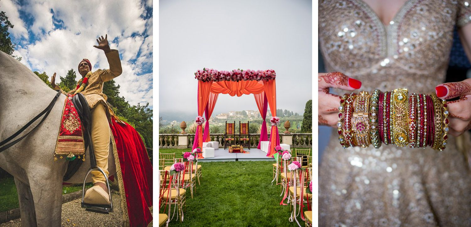 Indian Weddings in Italy