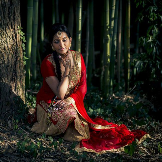 Indian Bride in Italy