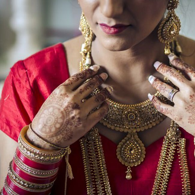 Indian Wedding bride in Italy